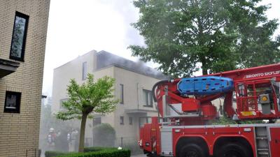 Flinke brand Vlaardingen door wasdroger