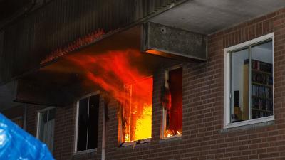 Uitslaande woningbrand Boxel