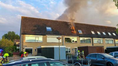 Brandweer Vlaardingen heeft woningbrand snel onder controle