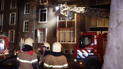 Woning in vlammen op tijdens oudejaarsavond in Den Bosch