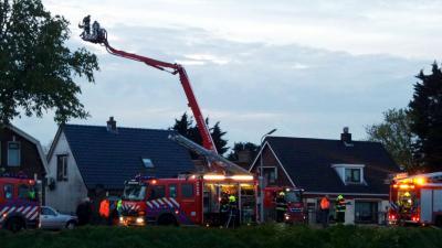 Twee gewonden bij brand in loods Lijnden