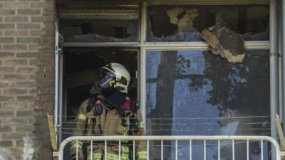 Woningbrand Vlaardingen snel geblust
