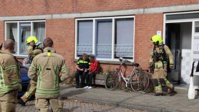 Brand woning Schiedam snel onder controle