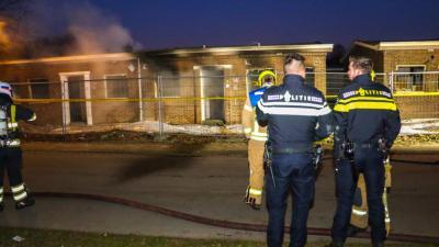 Opnieuw brand in slooppand Rotterdam