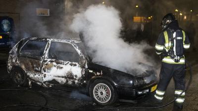 Foto van autobranden Den Bosch   Persburo Sander van Gils   www.persburausandervangils.nl