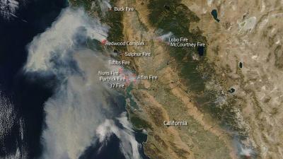 Brandweer Californië vreest voor inferno