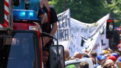 Landelijke acties brandweer in voorbereiding