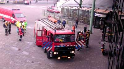 Geen treinen vanwege rook in Schipholtunnel