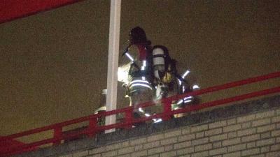 Brandweer rukt uit voor schoorsteenbrand Vlaardingen