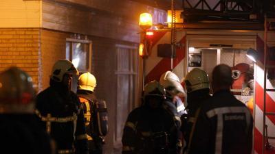 Bejaarde bewoonster gered bij woningbrand Roosendaal