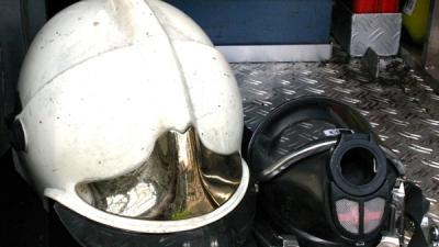 Foto van brandweerhelm   Archief MV