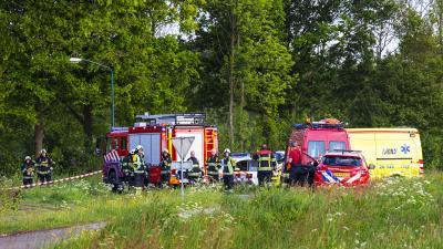 Foto van brandweer in buitengebied | Sander van Gils | www.persburosandervangils.nl