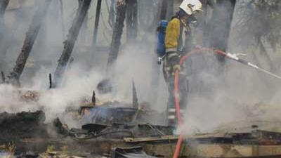 Fot o van brandweer nablussen | Archief EHF