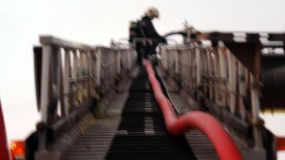 Grote brand in basisschool Bloemendaal