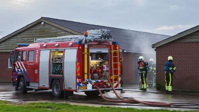 Brand varkensstal in Veghel snel onder controle