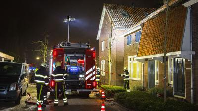 Brandweer heeft woningbrand snel onder controle in Sint-Oedenrode