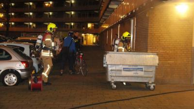 Brand kelder flat Schiedam snel onder controle