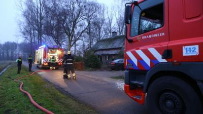 Brandweer weet erger te voorkomen bij brand in Oirschot