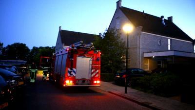 Gasfles voor terraskachel vliegt in de brand