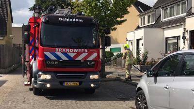 brandweerauto Schiedam