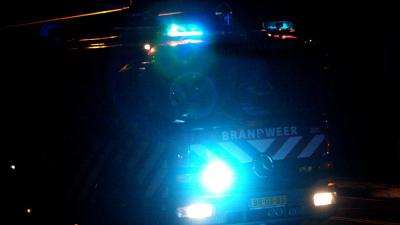 brandweerauto-zwaailichten