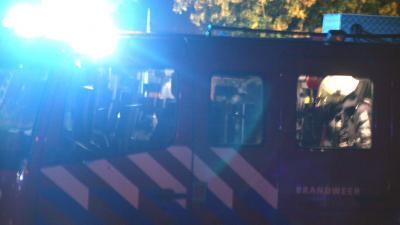 Twee brandweermannen gewond na slippartij met brandweerauto