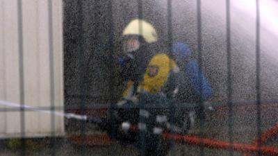 Foto van brandweerman   Archief FBF.nl