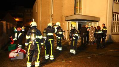 Appartementencomplex ontruimt wegens brandende kinderwagen