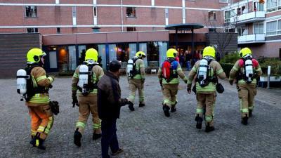 Brand in wooncomplex Vlaardingen
