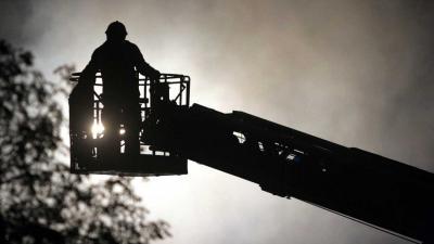 Brand verwoest zwembad in Julianadorp