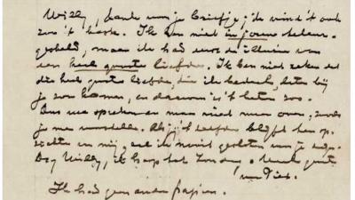 RKD verwerft archief met 22 niet eerder gepubliceerde brieven van Piet Mondriaan