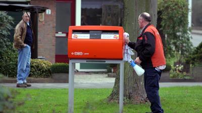 Foto van brievenbus   Archief EHF