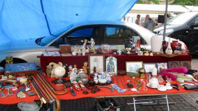 Foto van brocante markt in Joure