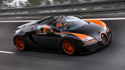 Foto van Bugatti Veyron Vitesse | PON/Bugatti