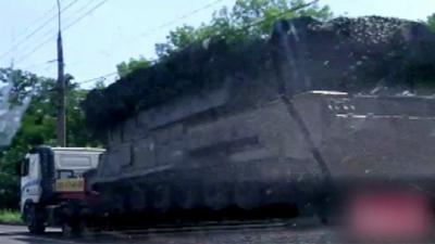 OM doet MH17-oproep via YouTube:wie heeft deze BUK gezien?