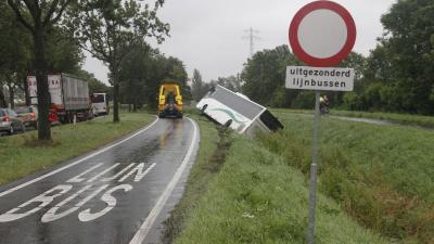 bus, ongeval, aanrijding