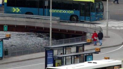Buschauffeurs van Connexxion in Almere staken om veiligheid