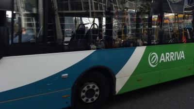 Vervoersbedrijf Arriva wil af van cashgeld om buschauffers te beschermen