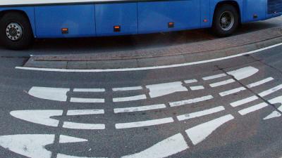 foto van busbaan   Archief fbf