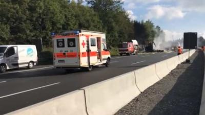 Drama bij ernstig busongeval in Duitsland