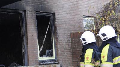 foto van woningbrand | fbf