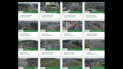 Volg nu zelf live het Rotterdams verkeer via 24 camera's