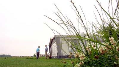 Foto van camping tent caravan | Archief EHF