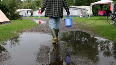 foto van camping | fbf archief