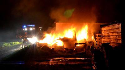 Gewonde bij caravanbrand in Musselkanaal