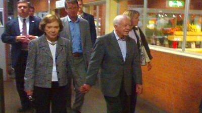 Oud VS-president Jimmy Carter vrij van kanker
