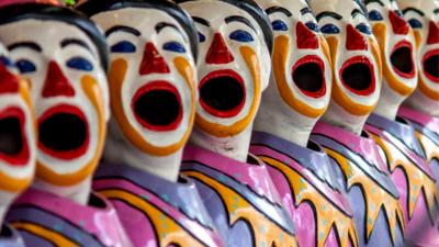 'Instagram-clowns' door politie opgepakt voor opruiing