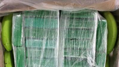 Grote partij van ruim 5000 kg cocaïne in België in beslag genomen