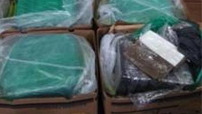 Lading bananen bevat 280 kilo cocaïne