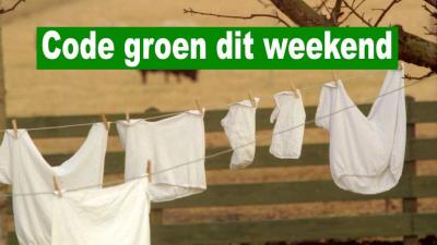 KNMI geeft code groen af voor zacht weekend weer